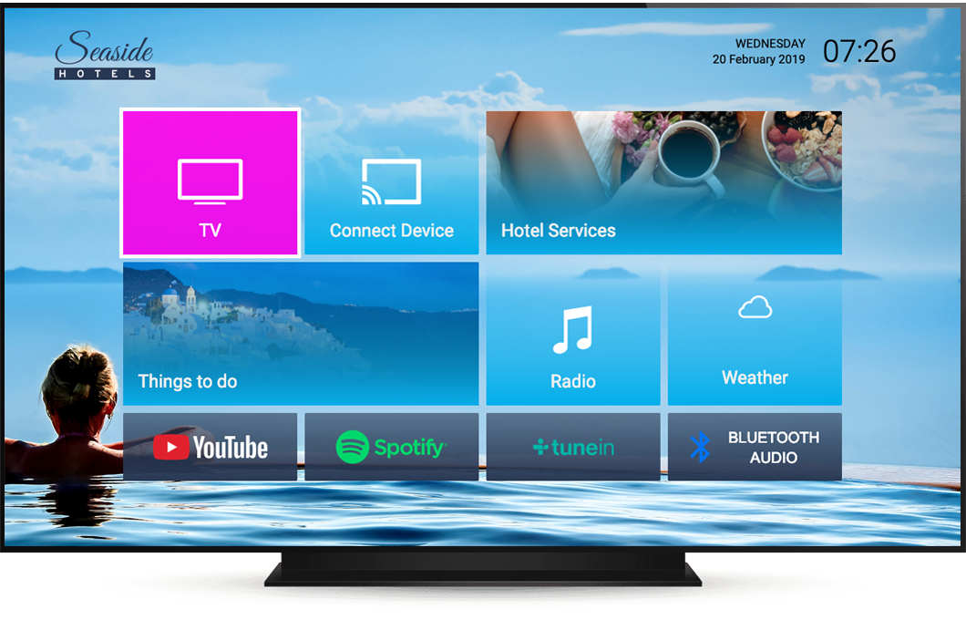Hotel TV System - Hospitality TV | Hibox Systems